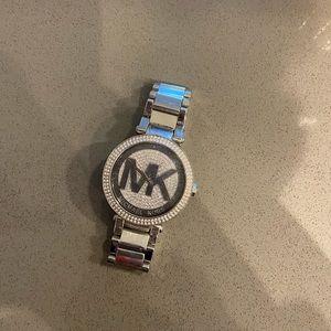 Michael Kors diamond studded watch